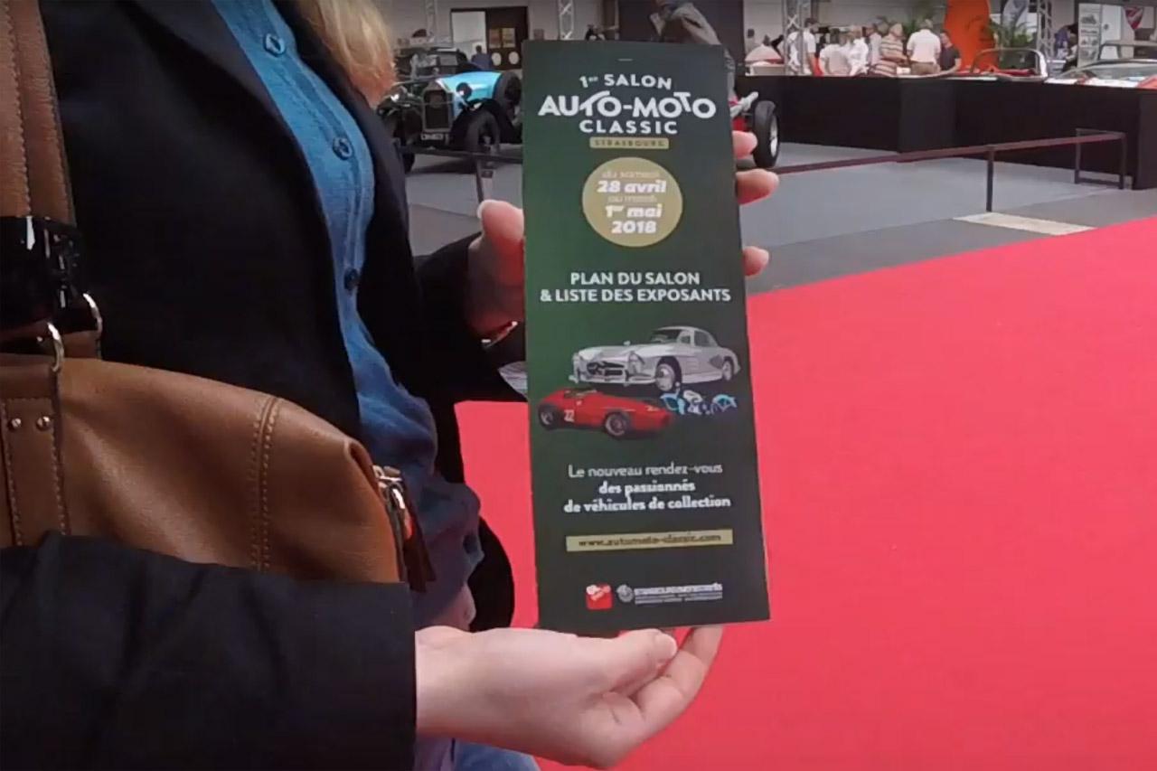 Visite du Salon Auto Moto Classic de STRASBOURG – 29 avril 2018