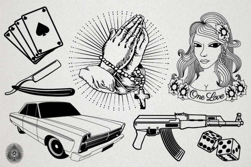 #000 – Une série d'Illustrations