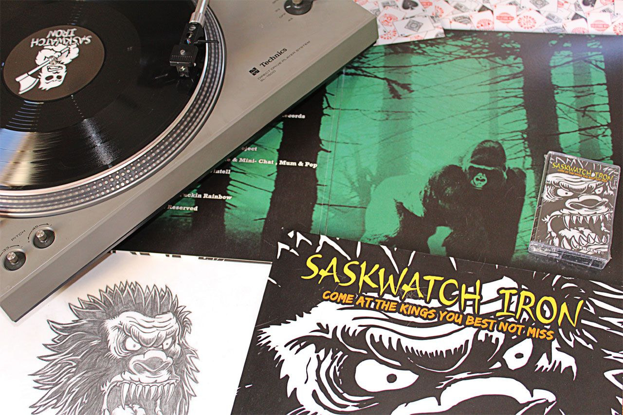 SASKWATCH IRON - Come at the Kings You best not Miss -  <p style=