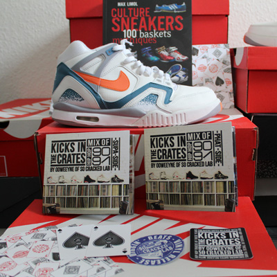 KICKS IN THE CRATES VOL 1 & 2
