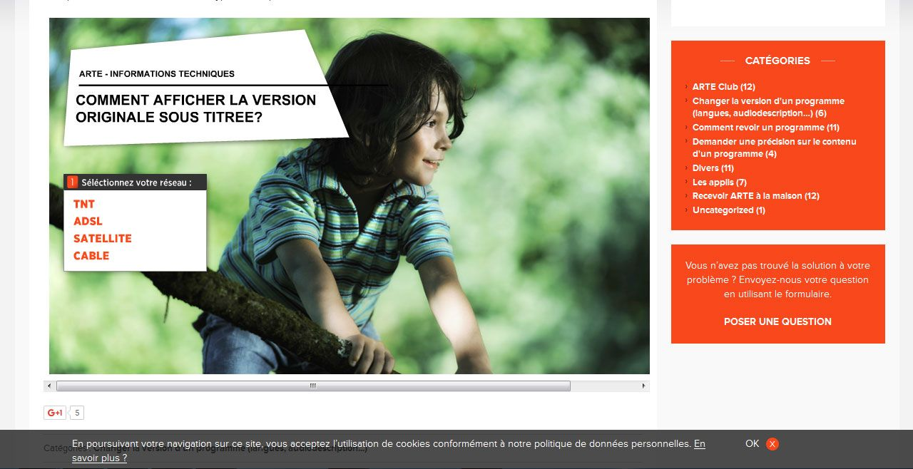 ARTE.TV - COMMENT AFFICHER LES PROGRAMMES EN VERSION VOST - une réalisation ILL COMMUNICATIONS