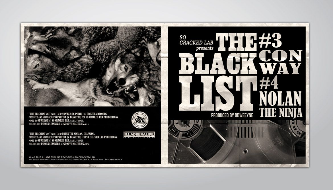 THE BLACKLIST - ODWEEYNE - SO CRACKED LAB - ILL