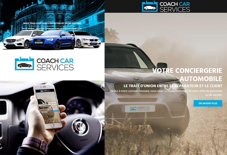 Webdesign - COACH CAR SERVICES - Une réalisation ILL COMMUNICATIONS